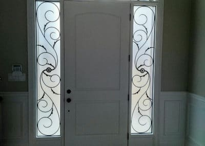 Majestic Sidelights & Transom