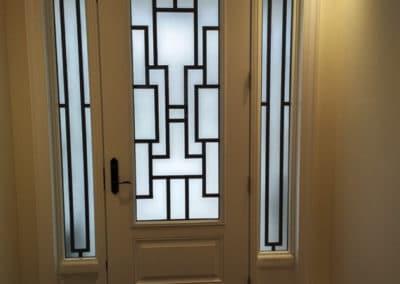 Zen for Single Door -  A What A Pane Original Design