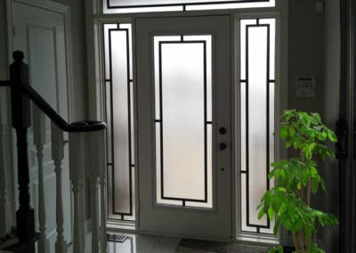 """Neo' original wrought iron design by What A Pane"