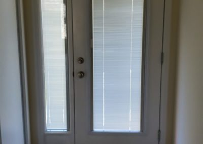 Blinds with Custom side panel