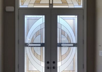 Stained Glass Door Insert