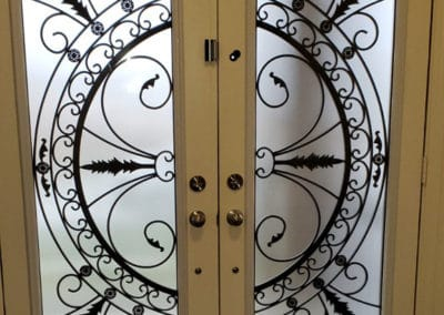 Harmony Wrought Iron Inserts by What A Pane
