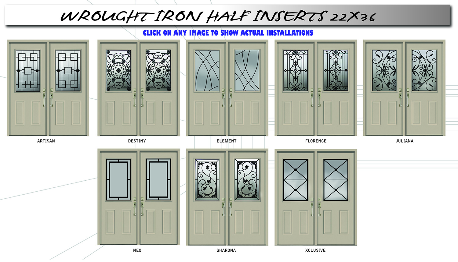 Wrought Iron Half Door 2020