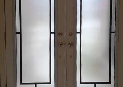 Neo Wrought Iron Door Inserts by What A Pane
