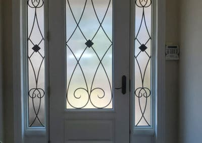 Elegance Wrought iron Insert by What A Pane