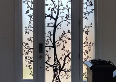laser cut door inserts by What A Pane