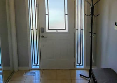 Neo Wrought iron door Insert Toronto