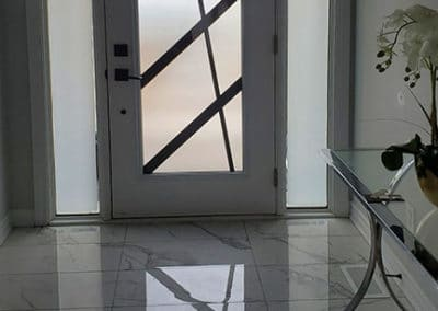 Ultra Wrought Iron Door Insert by What A Pane
