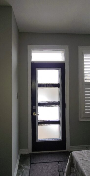 Door insert by What A Pane