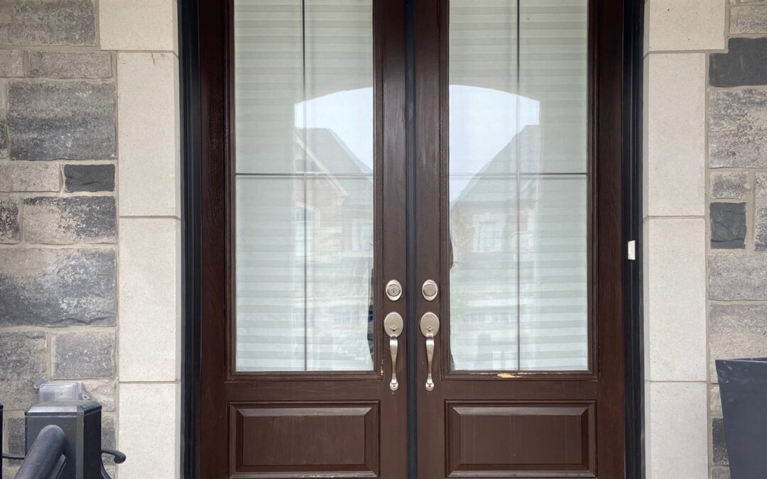 Which Wrought iron or Stained Glass Door Insert?