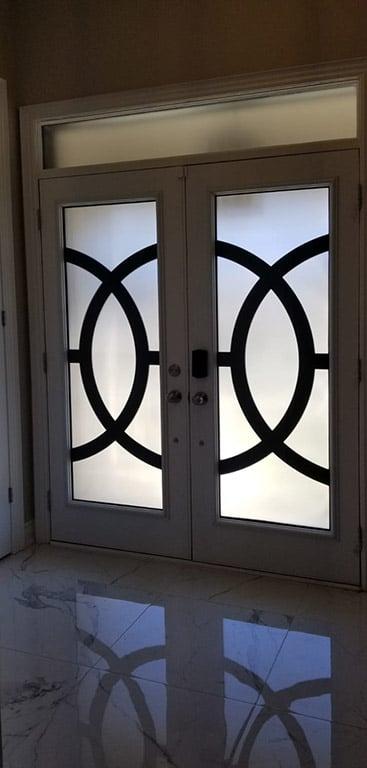 Oracle Laser cut door insert